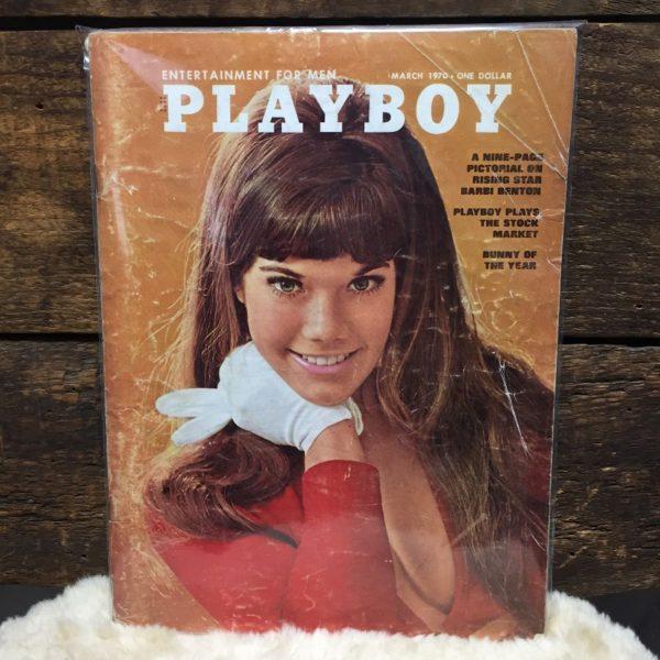 product details: PLAYBOY MAGAZINE MARCH 1970 - BARBI BENTON photo