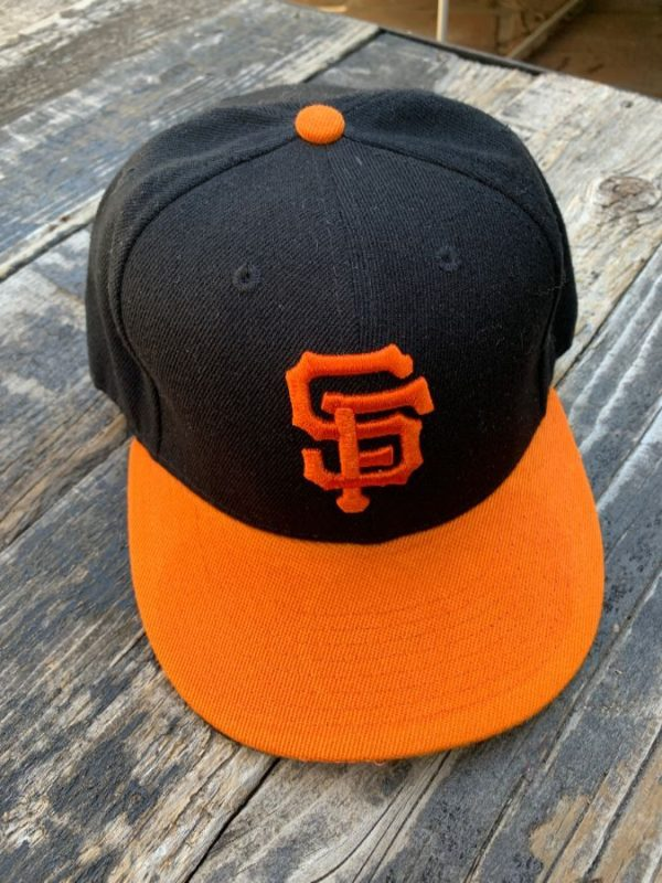 product details: CLASSIC EMBROIDERED SF GIANTS WOOL FITTED HAT photo