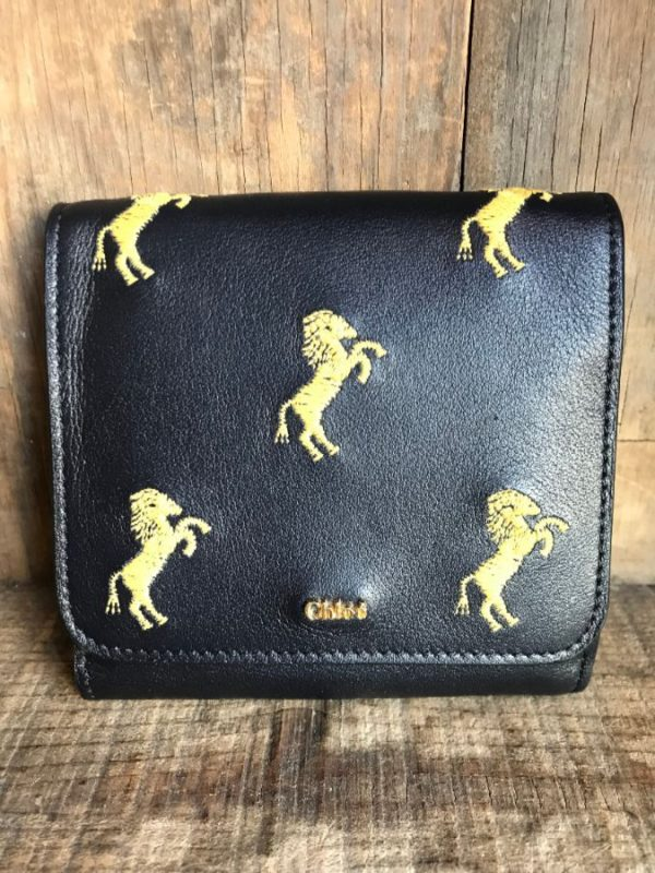 product details: EMBROIDERED LEATHER CHLOÉ WALLET photo