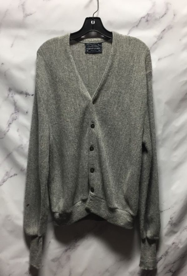 product details: RETRO WOOL BUTTON DOWN CARDIGAN SWEATER - AS IS photo