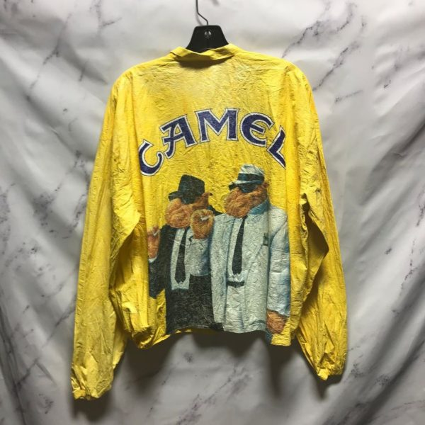 product details: PAPER THIN SUPER LIGHTWEIGHT CAMEL PAPER JACKET - AS IS photo
