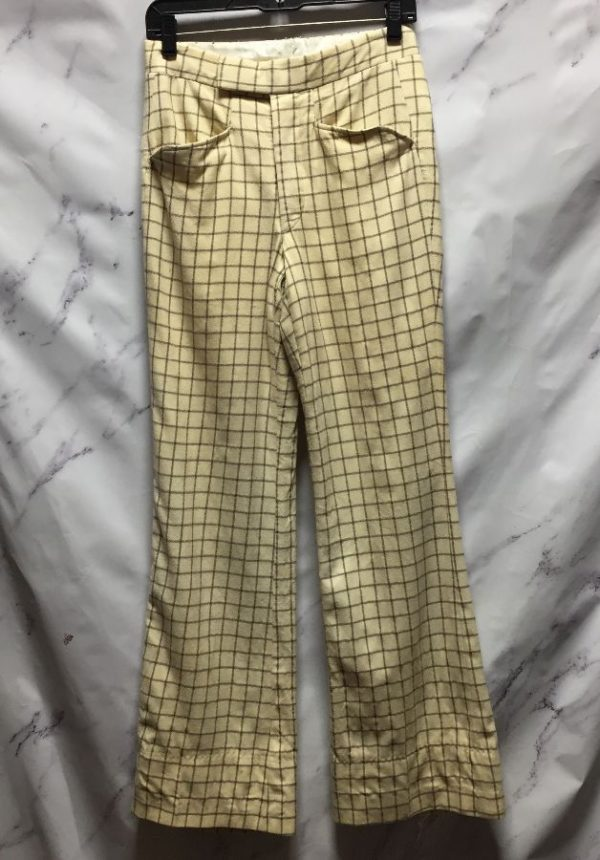 product details: RETRO 70S FLARED GOLF PANTS photo