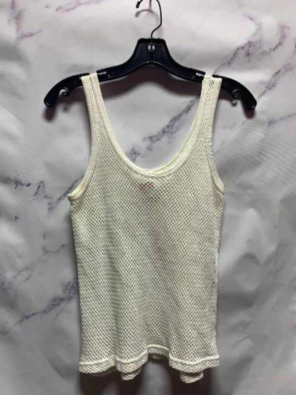 product details: COTTON NETTED TANK TOP photo