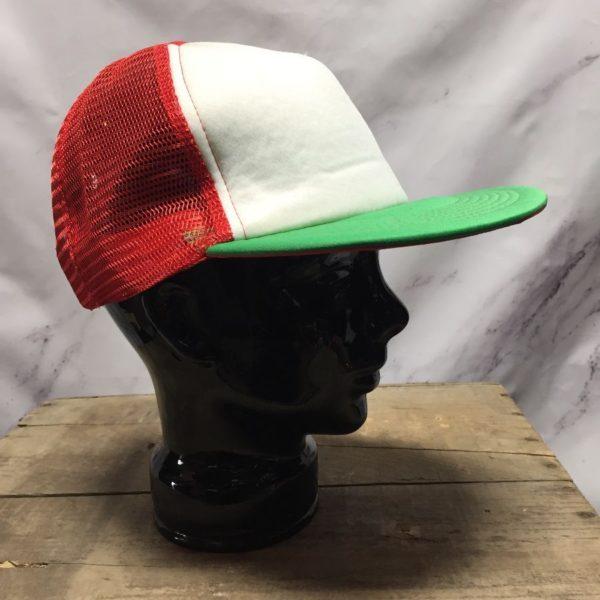 product details: BASIC COLOR BLOCK MESH TRUCKER CAP / HAT photo