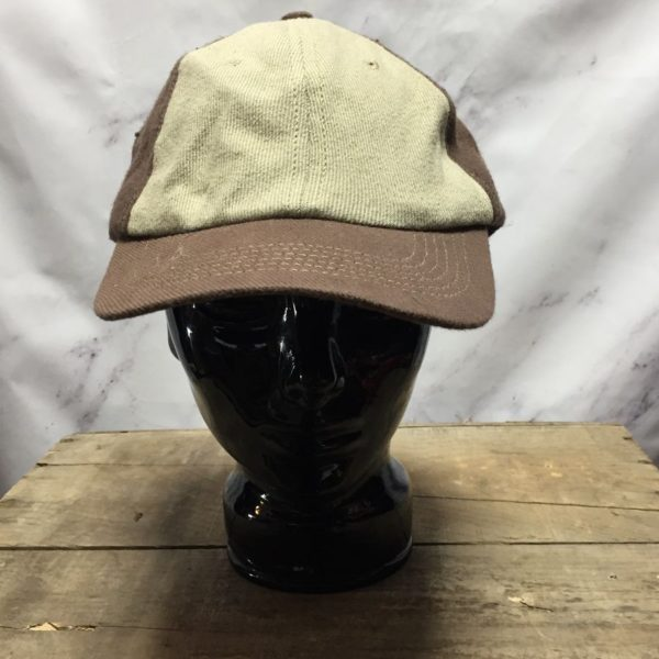 product details: CANVAS & HEMP CAP / HAT WITH LEATHER SIZE ADJUSTER photo
