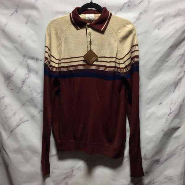 product details: SWEATER KNIT HORIZONTAL STRIPED photo