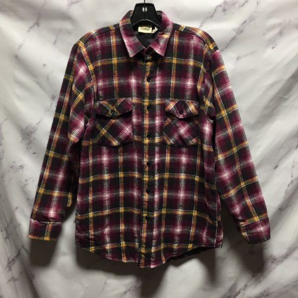 product details: THICK QUILT LINED FLANNEL SHIRT - AS IS photo