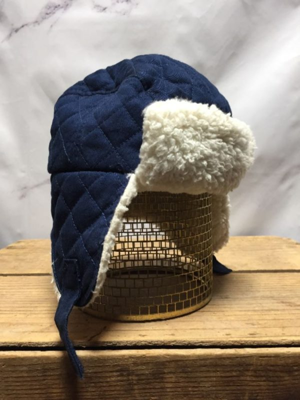 product details: CLASSIC PILOT AVIATOR BEANIE HAT WITH VELCRO photo