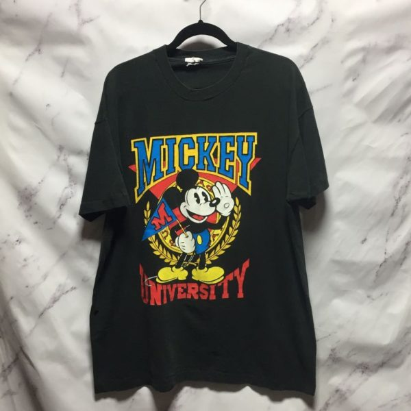 product details: CLASSIC MICKEY MOUSE UNIVERSITY GRAPHIC TEE photo