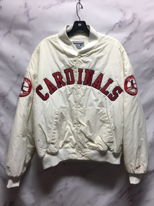 product details: ST. LOUIS CARDINALS SPORTS JACKET - AS IS photo