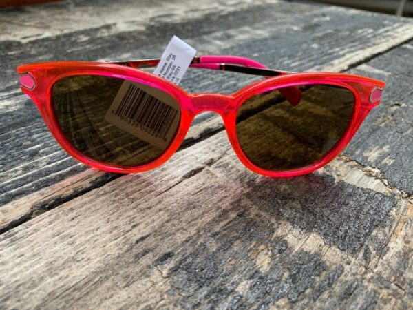 product details: PERVERSE BRAND CLEAR PINK NEON FRAME SUNGLASSES NWT photo
