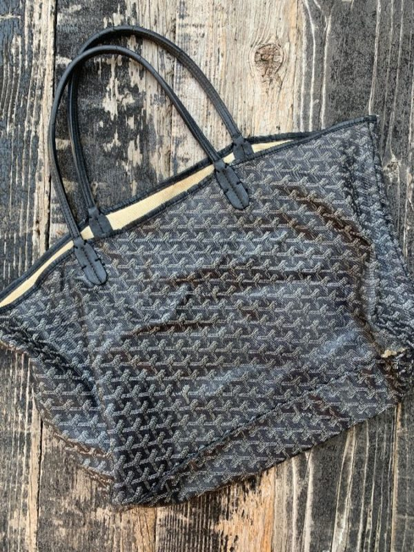 product details: DISTRESSED GOYARD BAG photo