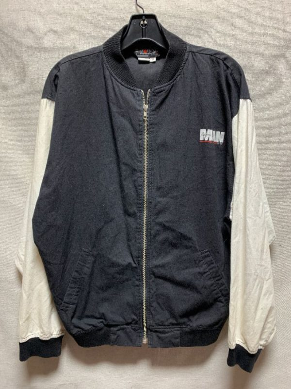 product details: JACKET  ZIPPER TWO TONE CALIFORNIA MAN SAN DIEGO AS-IS photo