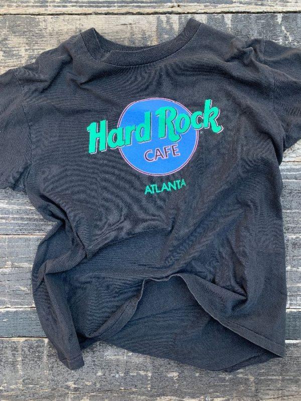 product details: VINTAGE HARD ROCK CAFE TSHIRT ATLANTA, GA photo