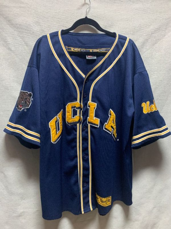 product details: UCLA BRUINS BUTTON UP BASEBALL JERSEY photo