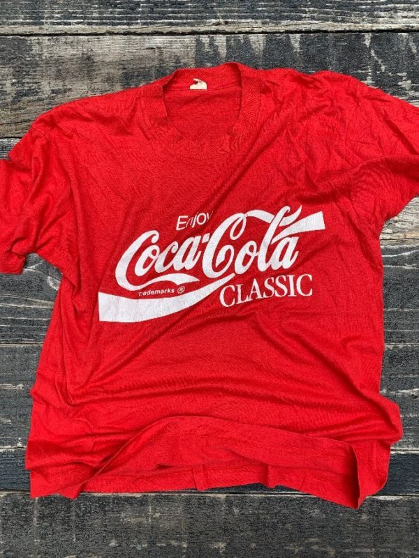 product details: ENJOY COCA COLA CLASSIC T-SHIRT photo