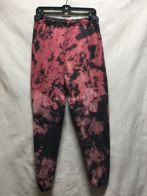 product details: SUPER SOFT & COZY BLEACH DYE SWEATPANTS  *LOCALLY MADE photo