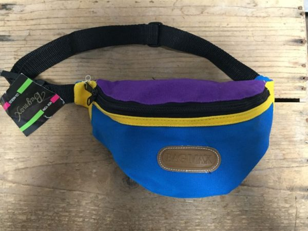 product details: 1990S DEADSTOCK FANNY PACKS 3 COLOR BLOCK NWT NOS photo