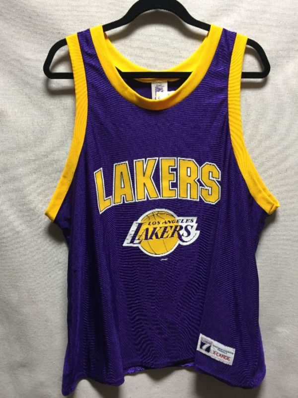 product details: VINTAGE DEADSTOCK NWT LOS ANGELES LAKERS JERSEY photo