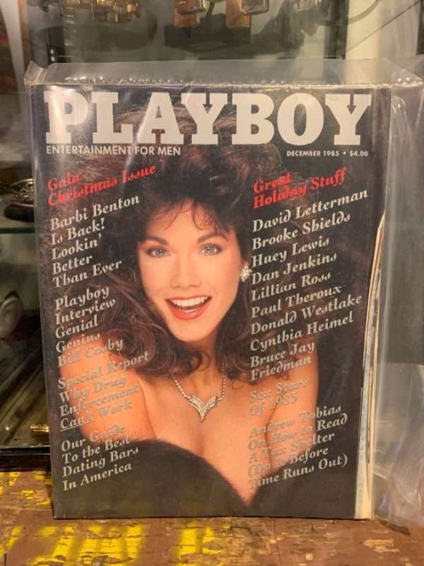 product details: PLAYBOY MAGAZINE - DECEMBER 1985 ISSUE - GALA HOLIDAY ISSUE photo