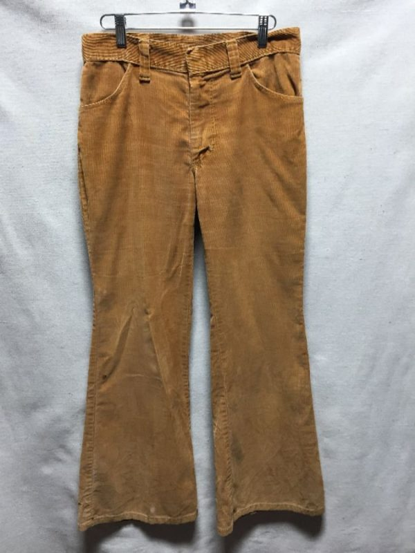 product details: VINTAGE WRANGLER CORDUROY BELL BOTTOM JEANS AS-IS photo