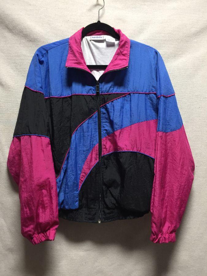 Reebok vintage windbreaker jacket