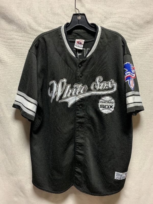 product details: RAD CHICAGO WHITE SOX EMBROIDERED BASEBALL JERSEY AS-IS photo