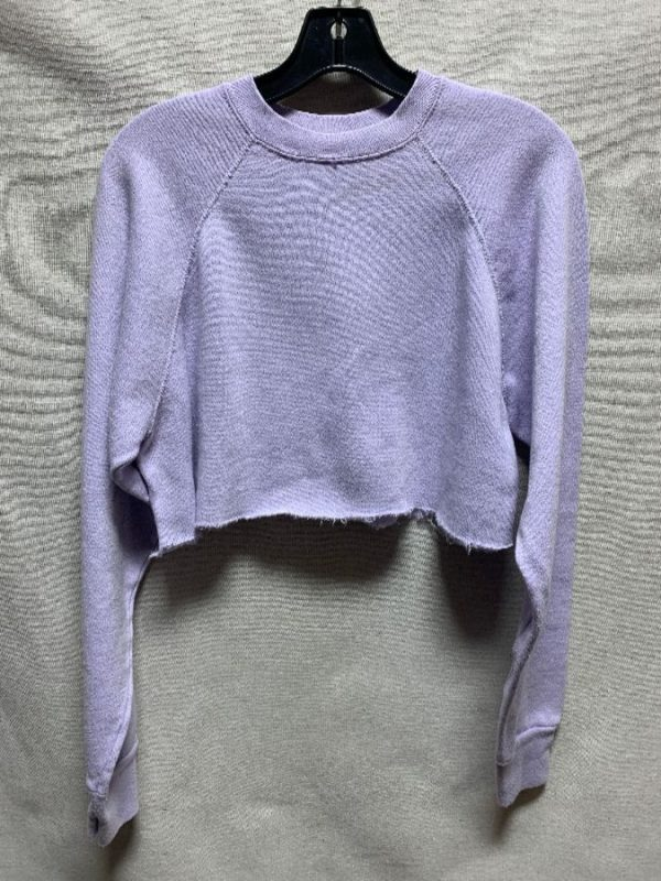 product details: CROPPED PASTEL PULLOVER SWEATSHIRT AS-IS photo