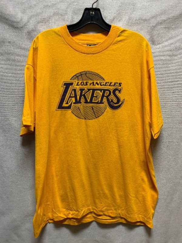 product details: TSHIRT LOS ANGELES LAKERS CHARLOTTE COUNTY PARKS & REC photo