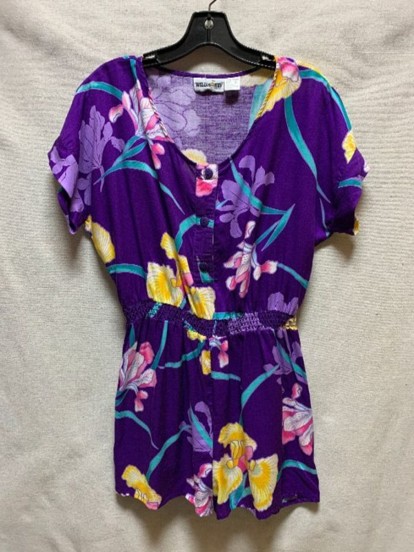 product details: TROPICAL PRINTED ROMPER photo