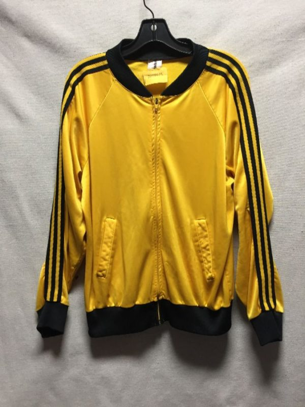 product details: VINTAGE TRACK JACKET WITH THREE STRIPES DOWN THE ARMS photo