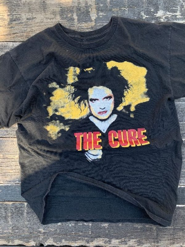 product details: THE CURE REFLECTION THE SEVEN FINALE SHOWS T SHIRT photo