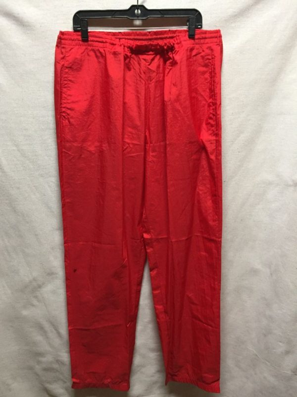 product details: VINTAGE MARLBORO TRACK PANTS WITH DRAW STRING photo