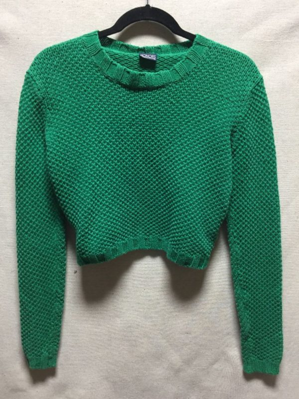product details: 1990S KNIT CROPPED SWEATER photo