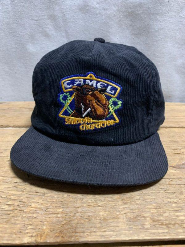 product details: CLASSIC CAMEL CIGARETTES LOGO CORDUROY HAT photo