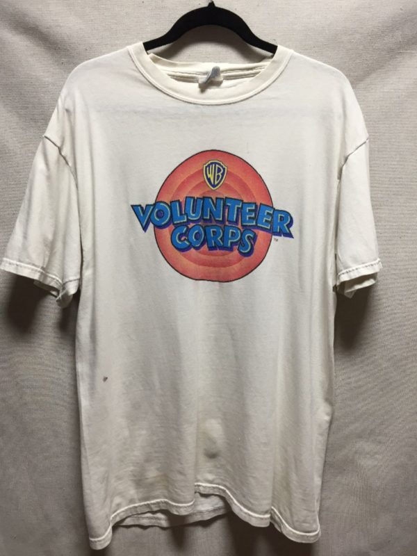 product details: VOLUNTEER CORPS WARNER BROTHERS T SHIRT AS IS photo