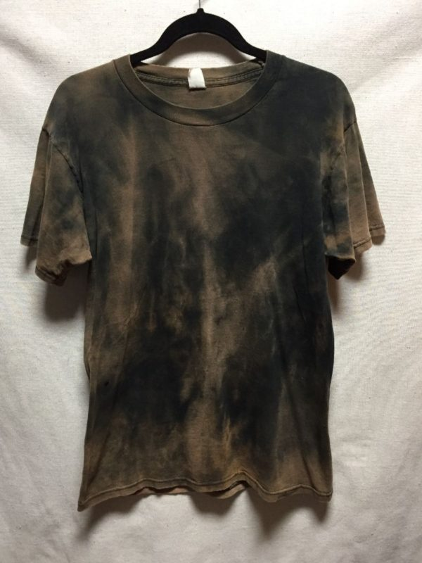 product details: BLEACH DYED BLANK T SHIRT AS IS photo