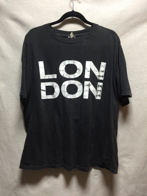 product details: VINTAGE BOLD LONDON DISTRESSED GRAPHIC BOXY FIT T SHIRT photo