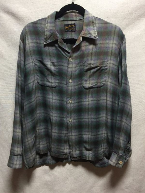 product details: SUPER SOFT 1960S FLANNEL SHIRT WITH DOUBLE BREAST POCKET photo