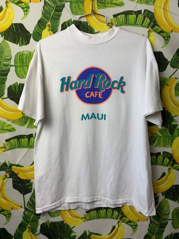 product details: TSHIRT HARD ROCK CAFE MAUI AS-IS photo