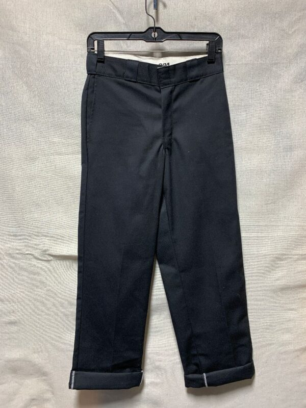 product details: STARCHED DEADSTOCK DICKIES WORK WEAR TROUSERS SMALL FIT 874 ORIGINAL FIT NWT photo
