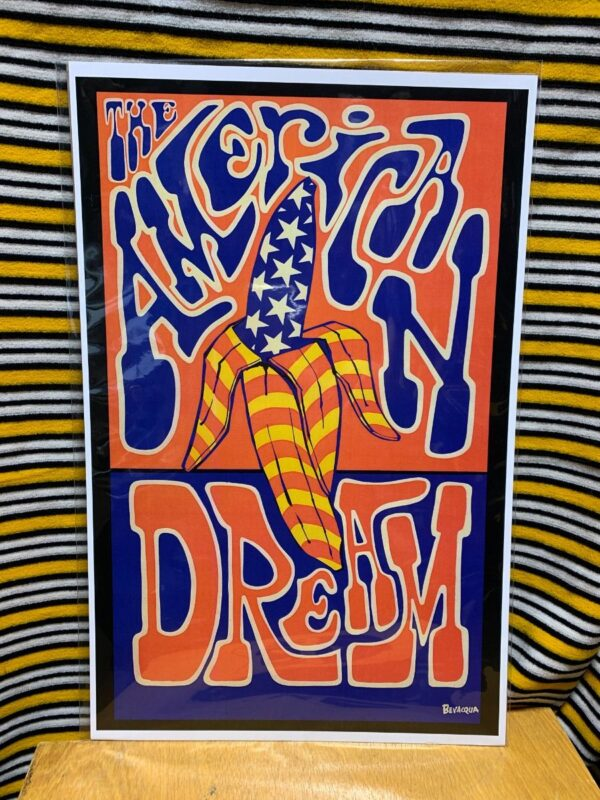 product details: THE AMERICAN DREAM POSTER (AMERICAN FLAG) photo