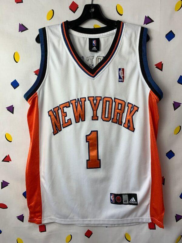 product details: NBA NEW YORK KNICKS BASKETBALL JERSEY #1 STOUDEMIRE photo