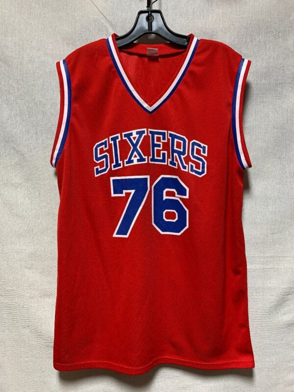 product details: NBA PHILADELPHIA 76ERS  BASKETBALL JERSEY photo