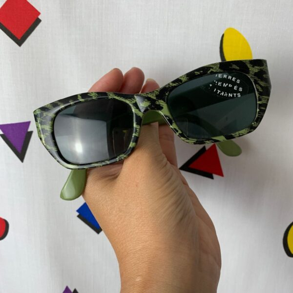 product details: DEADSTOCK WILD ANIMAL PRINT SUNGLASSES photo