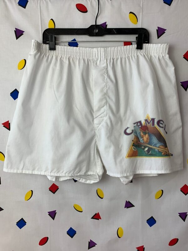 product details: CAMEL SHOOTING POOL BOXER SHORTS photo