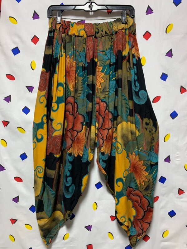 product details: FUNKY PRINT RAYON ETHNIC STYLE HAREM PANTS photo