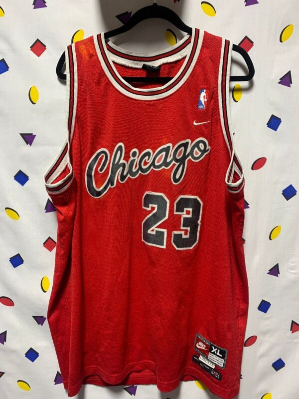 product details: CHICAGO BULLS JORDAN JERSEY #23 DISTRESSED AS-IS photo