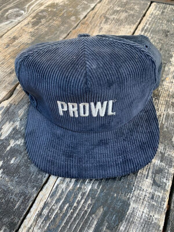 product details: EMBROIDERED PROWL VINTAGE CORDUROY HAT photo