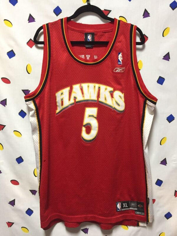 product details: NBA ATLANTA HAWKS #5 SMITH BASKETBALL JERSEY AS-IS photo